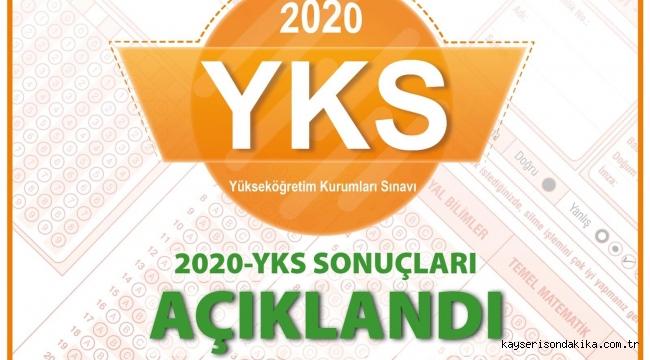 2020 YKS sonuçları açıklandı! YKS tercih dönemi ne zaman başlayacak?