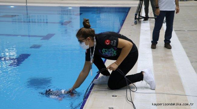 Gaziantep'te TEKNOFEST kapsamında İnsansız Su Altı Sistemleri Yarışması başladı