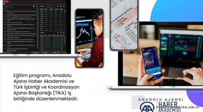 """AA ve TİKA iş birliğinde """"Online Ekonomi ve Finans Haberciliği Eğitim Programı"""" başladı"""