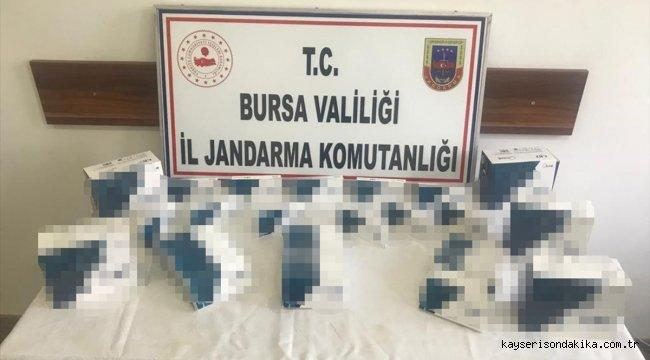 Bursa'da Kovid-19 test kiti sattıkları iddia edilen 4 zanlı yakalandı