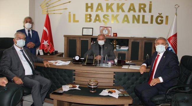 CHP milletvekillerinin Hakkari ve Muş ziyareti