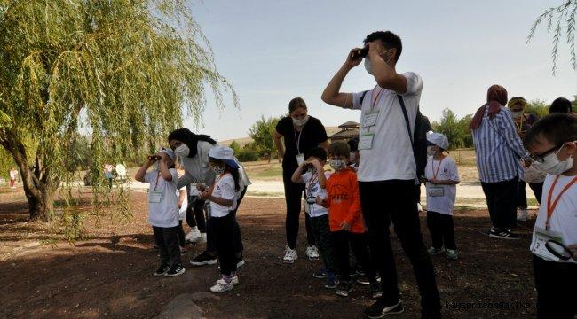 Çocuklar doğanın dilini TÜBİTAK projesiyle öğreniyor