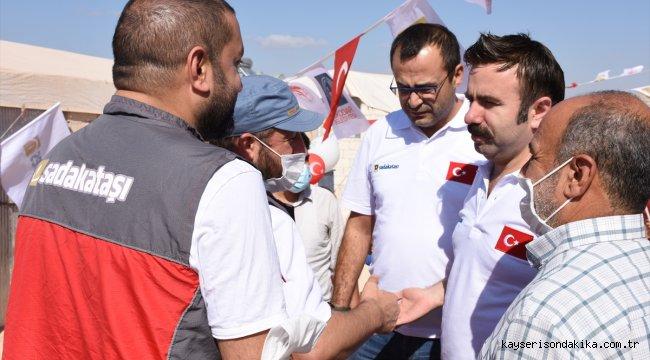 Emine Erdoğan'ın İdlibliler için bağışladığı 50 ev teslim edildi