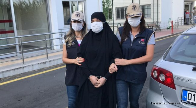Fransa tarafından kırmızı bültenle aranan terör örgütü DEAŞ üyesi Soumaya Raissi, Adana'da yakalandı.
