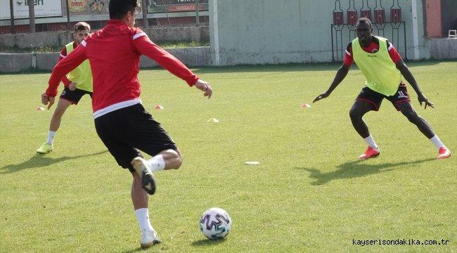 Gençlerbirliği, Yeni Malatyaspor maçının hazırlıklarını sürdürdü