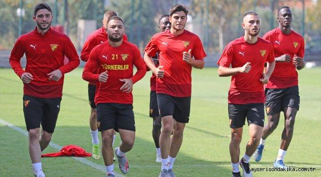 Göztepe, Kasımpaşa maçı hazırlıklarına devam etti