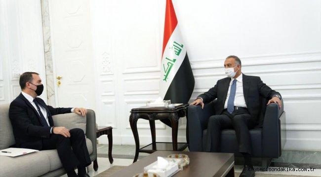"""Irak Başbakanı Kazımi: """"Ankara ziyareti için Erdoğan'ın davet mektubunu aldım"""""""