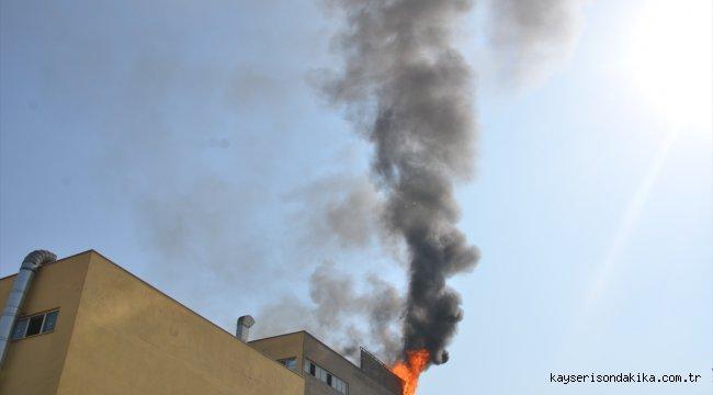 Kahramanmaraş'ta fabrikada çıkan yangın söndürüldü