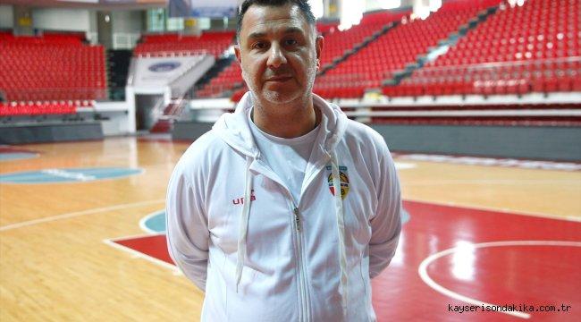Kayseri Basketbol Başantrenörü Ayhan Avcı, takımından umutlu: