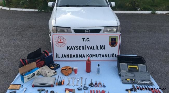 Kayseri Son Dakika Asayiş Haberi: İncesu ve Saraycık'ta yaşanan 7 faili meçhul hırsızlık olayı zanlıları yakalandı