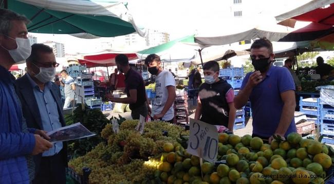 Kazım Yücel: Yakut Mahallesine acilen pazar yeri yapılmalı
