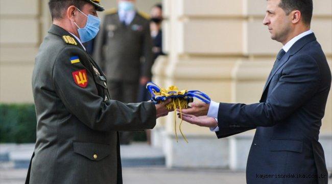 """Kiev'de """"Ukrayna Savunucuları Günü"""" kutlandı"""