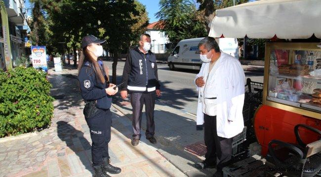 Konya, Aksaray, Afyonkarahisar ve Karaman'da Kovid-19 denetimi yapıldı
