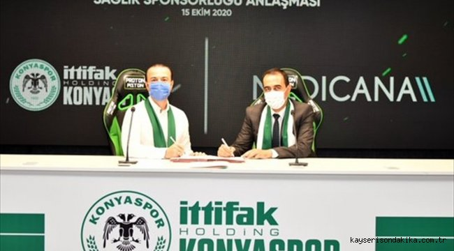 Konyaspor, Medicana Sağlık Grubu ile sağlık sponsorluğu anlaşmasını yeniledi