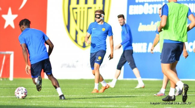MKE Ankaragücü, Çaykur Rizespor maçının hazırlıklarını sürdürdü