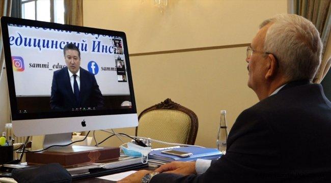 Özbekistan'da Semerkand Devlet Tıp Enstitüsü 90. yaşını kutluyor