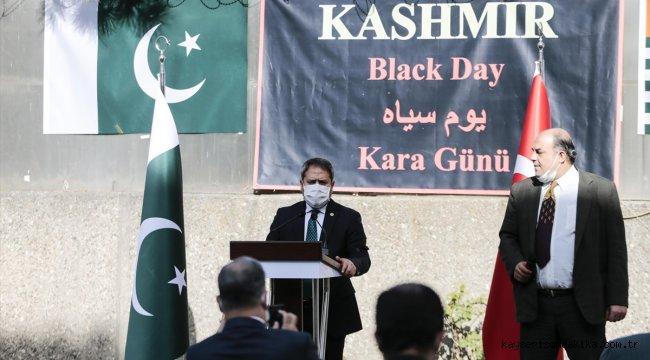 """Pakistan'ın Ankara Büyükelçiliğinde """"Keşmir Kara Günü"""" anma töreni"""