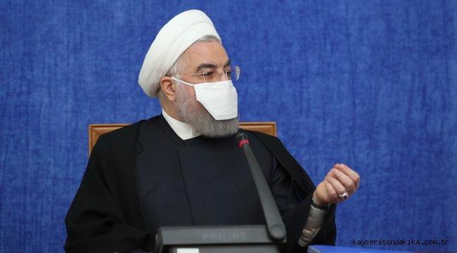 """Ruhani: """"Yurt dışında bloke edilen döviz kaynaklarımızı kullanabilmek için uğraşıyoruz"""""""