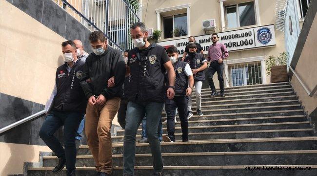 Sahte içkiden gözaltına alınan 3 şüpheli adliyeye sevk edildi
