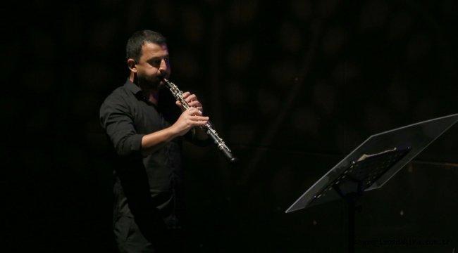 """Samsun Devlet Opera ve Balesi """"Üflemeli gecesi"""" konseri verdi"""