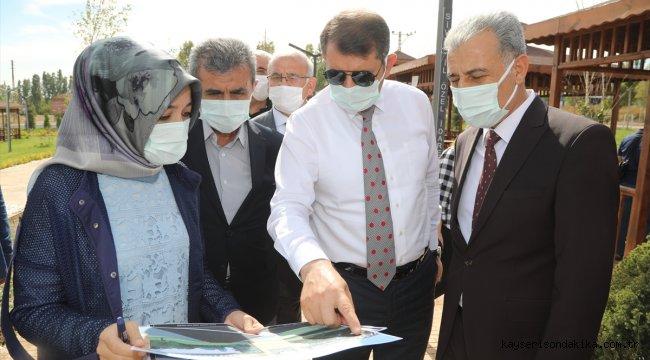Sivas'ta yapımı sürdürülen Altınkale, açılış için gün sayıyor