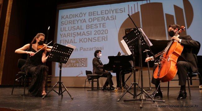 Süreyya Operası Ulusal Beste Yarışması sonuçlandı
