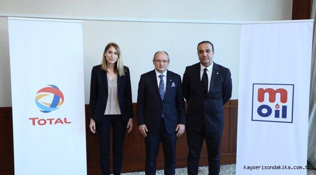 TOTAL ve M Oil'in bayi ve bölge temsilcileri Antalya'da bir araya geldi