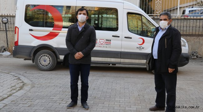 Türk Kızılay Ağrı'da immün plazma bağışında bulunmak isteyenlere öncülük ediyor