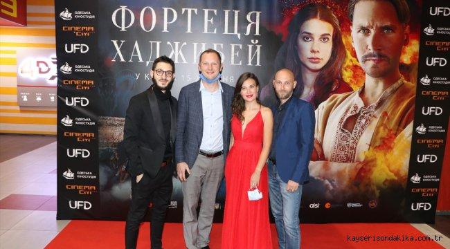 """Ukrayna-Türk-Gürcistan yapımı """"Son Kale Hacıbey"""" filminin galası Kiev'de gerçekleştirildi"""