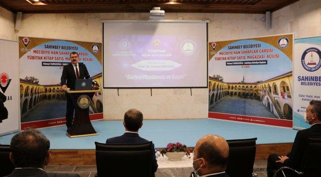 Gaziantep'te TÜBİTAK kitap mağazası açıldı