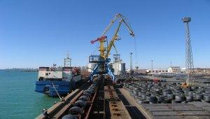 Kazakistan'ın Hazar Denizi'ndeki yük trafiği 10 ayda 1,8 milyon tona ulaştı
