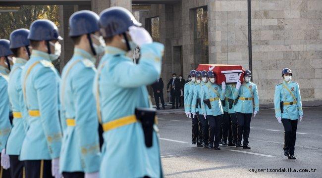 Eski Milletvekili Hasan Çetinkaya için TBMM'de cenaze töreni düzenlendi