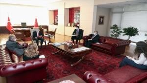 CHP Genel Başkanı Kılıçdaroğlu, Fransa'nın Ankara Büyükelçisi Herve Magro ile görüştü