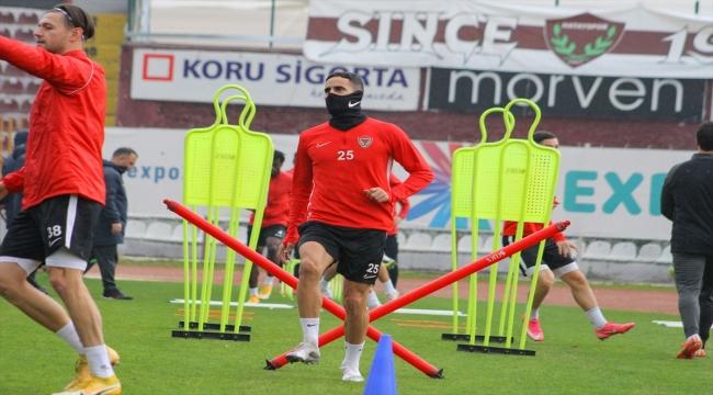 Hatayspor, Denizlispor maçı hazırlıklarına devam etti