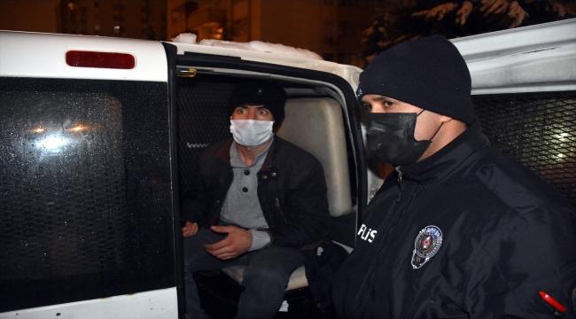 Kayseri'de hırsızlık şüphelisini bina sakinleri yakaladı