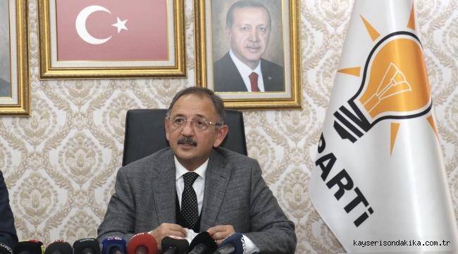 """Mehmet Özhaseki'den Nevşehir Belediye Başkanı Rasim Arı için: """"Erciyes'te, Erciyes'in Kayseri'ye ait olduğunu tekrarlatacağız"""""""