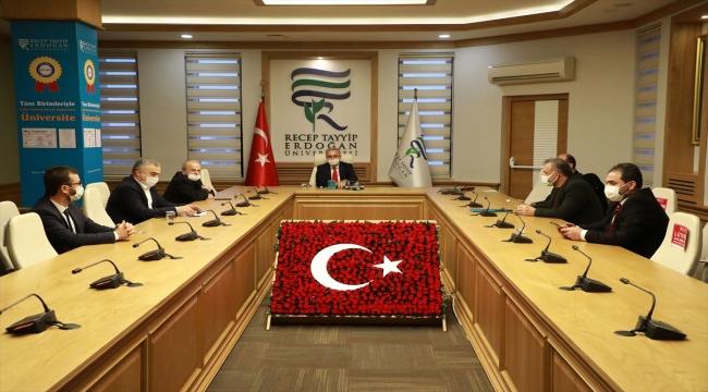 """Recep Tayyip Erdoğan Üniversitesi ile HEGEM arasında """"şiddetle mücadele"""" için protokol imzalandı"""
