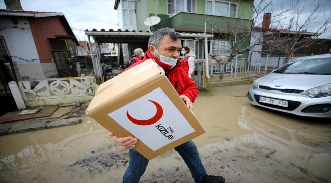 Alpullu Belediye Başkanı Ceylan, taşkın nedeniyle 400 evde hasar meydana geldiğini söyledi