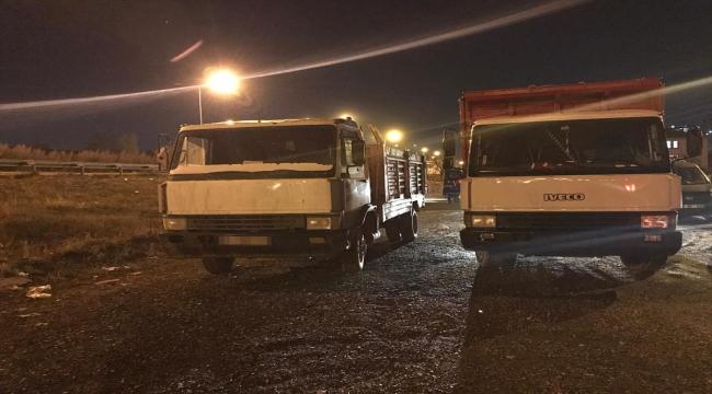 Ankara'da açık araziye kimyasal atık bırakan 2 kişiye 804 bin 770 lira para cezası