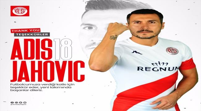 Antalyaspor'dan Jahovic'e teşekkür mesajı