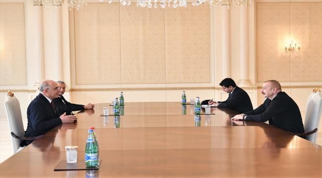 Azerbaycan Cumhurbaşkanı İlham Aliyev MHP heyetini kabul etti