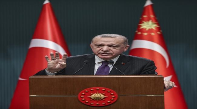 Cumhurbaşkanı Erdoğan, Kabine Toplantısı'nın ardından millete seslendi: (5)