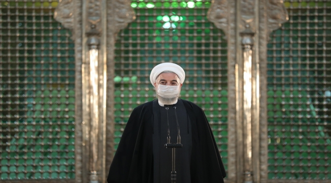 """İran Cumhurbaşkanı Ruhani'den """"seçimlere katılım"""" vurgusu"""