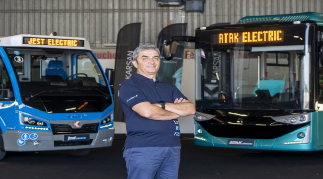 Karsan'ın elektrikli sürücüsüz otobüsü Türkiye'de de yollara çıkıyor