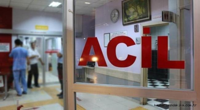 Kayseri Argıncık'ta soba zehirlenmesi: 4 kişi hastaneye kaldırıldı