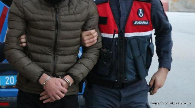 Kayseri'de 6 yıldır aranan zanlı Jandarma tarafından yakalanarak tutuklandı