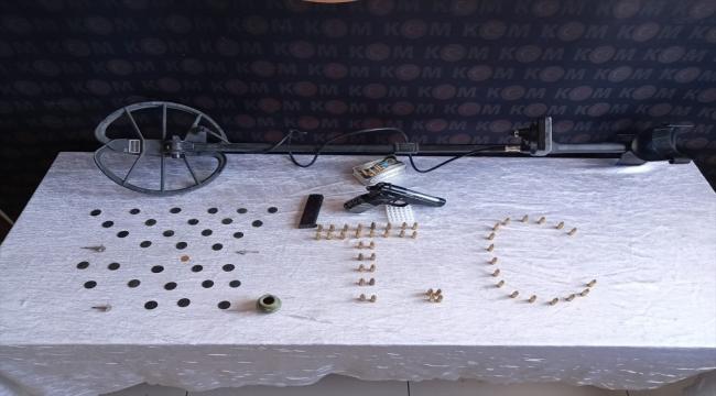 Kayseri'de tarihi eser operasyonunda 3 şüpheli yakalandı