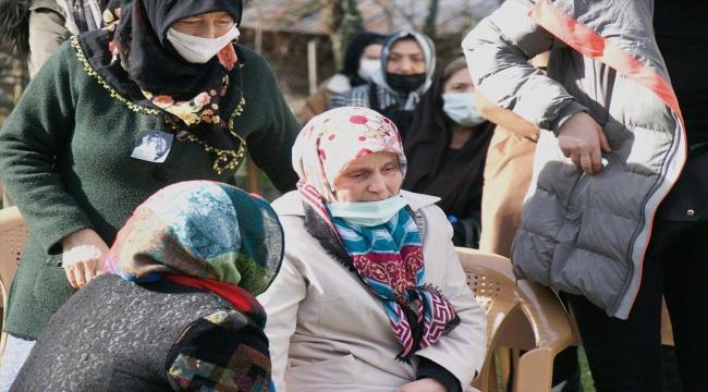Samsun'da cinayete kurban giden kadının cenazesi toprağa verildi