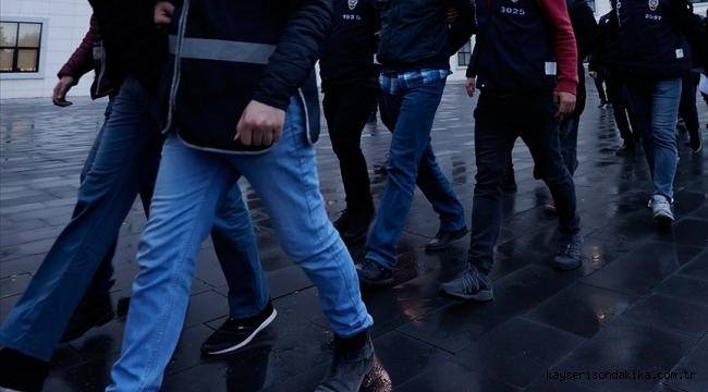 Kayseri merkezli FETÖ/PDY soruşturmasında 9 zanlıya gözaltı