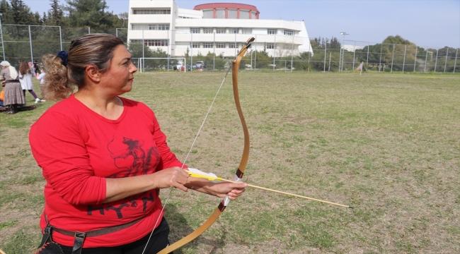 47 yaşındaki kadın okçunun hedefi, kurulacak Geleneksel Türk Okçuluğu Milli Takımı'na girebilmek